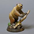 """Bear Bronze Sculpture """"Terrain""""   Barry Stein   BBSBEARTERRIAN-2"""