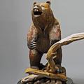 """Bear Bronze Sculpture """"Terrain""""   Barry Stein   BBSBEARTERRIAN-3"""