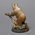 """Bear Bronze Sculpture """"Terrain""""   Barry Stein   BBSBEARTERRIAN-5"""