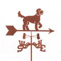 Golden Doodle Dog Weathervane   EZ Vane   ezvGoldenDoodle