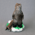 "Bear Bronze Sculpture ""Yogi Bear"" 