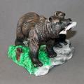 "Bear Bronze Sculpture ""First Lesson""   Barry Stein   BBSFIRSTLESSON-3"