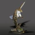 Red Tailed Hawk Bronze Sculpture  | Barry Stein | BBSREDTAILEDHAWK