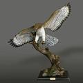 Red Tailed Hawk Bronze Sculpture  | Barry Stein | BBSREDTAILEDHAWK-2