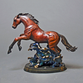 "Horse Bronze Sculpture ""Racing the Wind"" | Barry Stein | BBSRACINGINTHEWIND-3"