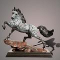 "Horse Bronze Sculpture ""The Stallion"" | Barry Stein | BBSSTALLION-2"