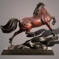 "Horse Bronze Sculpture ""The Stallion"" | Barry Stein | BBSSTALLION-5"