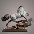 "Horse Bronze Sculpture ""The Stallion"" | Barry Stein | BBSSTALLION-3"
