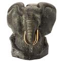 Black Elephant Ceramic Figurine | De Rosa | Rinconada | DER464B