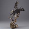 "Eagle Bronze Sculpture ""Spirit of Liberty""   MHS15042"