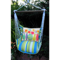 "Flowers Hammock Chair Swing ""Beach Boulevard"" | Magnolia Casual | BBC503-SP"