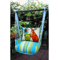 "Bunny with Flower Pot Hammock Chair Swing ""Beach Boulevard"" 