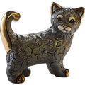 Abanico Cat Family Figurine Set of 2 | De Rosa | Rinconada F213-F413 -2