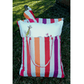 "Bird Hammock Chair Swing ""Cristina Stripe"" | Magnolia Casual | CRTCGB-SP2"