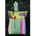 "Bird and Daisy Hammock Chair Swing ""Fresh Lime"" | Magnolia Casual | FLRRPDB-SP2"