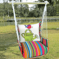 "Bird and Watering Can Hammock Chair Swing ""Le Jardin"" 