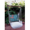 "Rod and Reel Hammock Chair Swing ""Latte"""