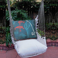 "Rod and Reel Hammock Chair Swing ""Latte"" 