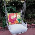 """Butterfly Hammock Chair Swing """"Latte""""   Magnolia Casual   LTTC511-SP-3"""