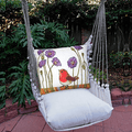 "Red Robin Hammock Chair Swing ""Latte"" | Magnolia Casual | LTRR504-SP-3"
