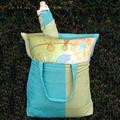 """Hydrangea Hammock Chair Swing """"Meadow Mist""""   Magnolia Casual   MMSN604-SP-3"""