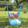 """Hydrangea Hammock Chair Swing """"Meadow Mist""""   Magnolia Casual   MMSN604-SP"""