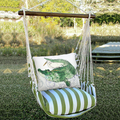 "Alligator Hammock Chair Swing ""Summer Palm"" | Magnolia Casual | SPRR708-SP"