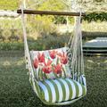 "Tulip Hammock Chair Swing ""Summer Palm"" | Magnolia Casual | SPTC704-SP"