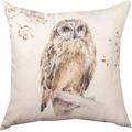 Owl Indoor/Outdoor Pillow | Manual Woodworkers | SLAWWO
