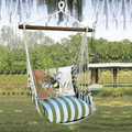 "Bee Hammock Chair Swing ""Summer Palm""   Magnolia Casual   SPRR614-SP"