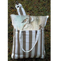"""Sea Turtle and Baby Hammock Chair Swing """"Striped Chocolate"""" 