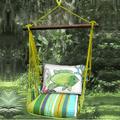 "Fish Hammock Chair Swing ""Citrus Stripe"" | Magnolia Casual | CTRR804-SP"