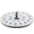 Rabbit Standing Deviled Egg Tray | Vagabond House | VHCG302SR -3
