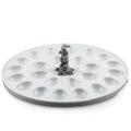 Rabbit Standing Deviled Egg Tray | Vagabond House | VHCG302SR -3