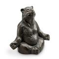 Contented Yoga Bear Garden Sculpture | SPI Home | 51051