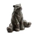 Stretching Yoga Bear Garden Sculpture   SPI Home   51050