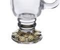 Butterfly Glass Mug, 24K Gold Plated | Arthur Court Designs | 121058