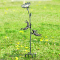 Rowdy Rabbit Pair Birdfeeder with Stake | 34793 | SPI Home