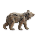 Brown Bear Wall Plaque | 48119 | SPI Home