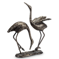 Bird Pair Sculpture | Seaside Splendor | SPI Home | 51042