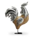 Rooster Sculpture | Barnyard Boss | SPI Home | 48121