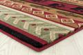 "Bear Print Area Rug ""Woodside""   United Weavers   712-30750"