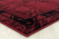 "Deer Area Rug Red ""Woodside"" 