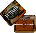 Deer Standing Tan Leather Men's Trifold Wallet -3