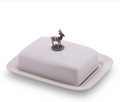 Stag Butter Dish | Vagabond House | B340S