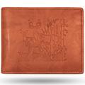 Aspen Buck and Doe Leather Bifold Tan Wallet