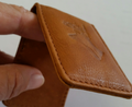 Deer Head Leather Money Clip -2