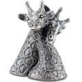 Giraffe Pewter Salt Pepper Shakers | Vagabond House | C116G