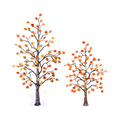Bovano Small Aspen Tree Autumn Leaves Enameled Copper Wall Art   W99