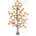 Bovano Small Aspen Tree Autumn Leaves Enameled Copper Wall Art | W99